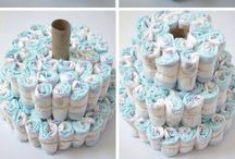 Do not forget ! Create Diaper Cake For Baby Shower !!