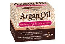Arganové pleťové krémy