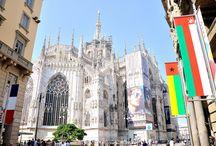 Milano, Italy. / Qualche immagine di Milano, Duomo, Piazza Duomo, Milano Stazione Centrale e altro.