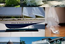 Jillian + Fowler: Real French's Point Wedding / A real Maine wedding at French's Point. Get married at our waterfront venue overlooking the ocean in Maine.