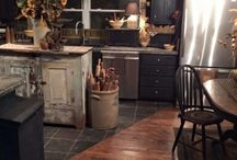 Primitive Kitchens / Great prim looks for your kitchen. Pictures to inspire and motivate.
