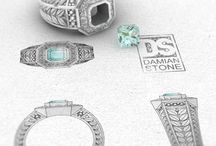 Damian Stone - CAD - / My personal and professional creative work, from traditional jewellery design to 3D printing and graphic design.