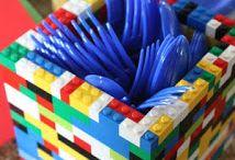 superhero lego party