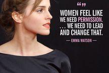 Women I admire