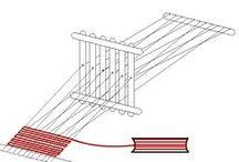 lolly stick weaving