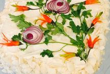 Salate decorate