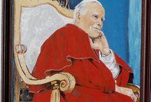 Felicja Musioł-Kozielska Papież Jan Paweł II