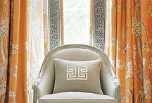 Heavenly Drapery / Drapery and curtains are an art form. Frame your windows lovingly with exquisite drapes.