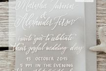 WEDDING STATIONERY WATERCOLOUR & NATURAL