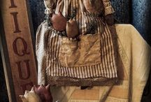 Primitives dolls and toys