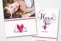 Celebrations / Photoshop Templates for Photographers from Eleo B. ♥ SHOP AT: etsy.com/shop/eleob