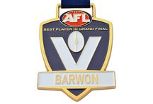 Australian Rules Football Medals / Medals Australia - Australian Rules Football Medals Customised Medal and Lanyards for your club. #AussieRulesMedals