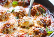 Meat Ball dishes