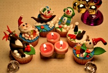 Christmas Cupcake ideas / Looking for fresh Christmas cupcake ideas? Find the latest collection and video tutorials on making Christmas cupcakes.