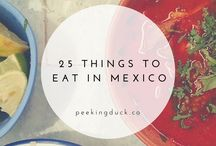 Mexico travel posts / Your guide through every state in Mexico. Plan your next vacation and experience the interesting mexican culture. City, Beach and food pin can be found here.