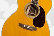 All Star Acoustic Guitars / Whether you prefer a rustic dreadnought, or a more modern-shaped grand auditorium with the latest electronics, your taste in acoustic and acoustic-electric guitars says a lot about you. We've put together a list of our top-rated acoustic guitars with quotes from their proud owners. Check it out below and see if any resonate with you!