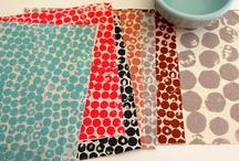 Umbrella Prints fabric design