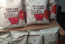 Popcorn Kitchen / Our mission is to create 'the best popcorn you'll ever taste' using traditional handmade methods.  We hand-pop our corn in a giant kettle, hand-sift it to remove unpopped kernels and then taste every batch to make sure it's perfect.  Our popcorn is so moreish it will be gone before you know it! We hope you enjoy eating it as much as we enjoy making it! Clare & PJ