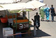 Marrakech, Morocco / Old historically important city situated on the doorstep of the desert.