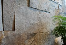 wall stone decor