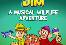 Client: Jungle Jim - A Musical Wildlife Adventure