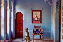 India vibe woonkamer
