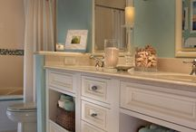 Bathroom Decor Ideas / Ideas for designing and decorating the bathroom / by Karen Pottinger