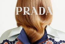 "P R A D A / ""Women always try to tame themselves as they get older, but the ones that look best are always a bit wilder."" – Miuccia Prada"