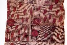 bark cloths / Polynesian and pacific textiles