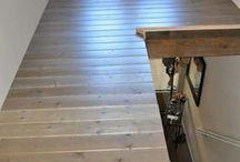 ampliar rellano escalera