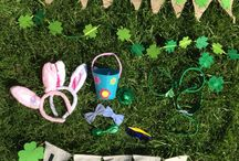 Spring Parties for Kids / Easter decor, St Patty's Day Parties, Spring Parties for Kids.  Cute inexpensive ideas to decorate for kids and baby's parties, springtime, #targetstyle, etsy / by Club MomMe