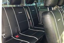 VW T5 8-Sitzer / T5 8-Sitzer mit Sitzbezügen von Seat-Styler!  #VW #Volkswagen #Seatcovers #Autositzbezüge #8Sitzer #Lederoptik #Transporter
