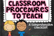 Teaching it - Classroom Management / Classroom Decoration, Organization, and Flow.
