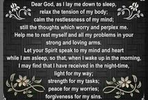 Prayer before sleep