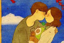 Σκίτσα για την αγάπη / Αν η αγάπη ήταν σκίτσο, τότε θα ήταν σίγουρα κάποιο από τα παρακάτω! Απολαύστε τις τρυφερές εικόνες...