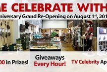 Kellyco 60th Anniversary And Grand Re-Opening Event! / This is THE largest #metaldetecting event of the year! We want you to join in the celebration on August 1st, 2015! There will be TV celebrities, giveaways each hour, representatives from metal detecting manufacturers, visits with local metal detecting clubs and more!  / by Kellyco Detectors