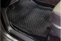 Floor Mats  / Floor liners are a great way to protect your vehicle from the mud, snow and dirt you drag in and the coffee, ice cream and soda you spill. Browse these floor mat videos and photos to find the right set for your truck, SUV, car or minivan.  / by RealTruck.Com