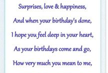 Birthday verse