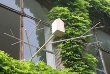 garden: birdhouses