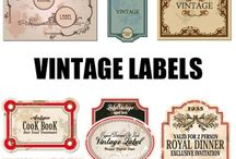 Vintage Ads Comecials Posters Signboard  Labels