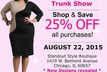 Shavonne Dorsey Chicago Trunk Show / On August 22nd, Shavonne Dorsey will be hosting an Exclusive Trunk Show in Chicago at an Award Winning Contemporary Boutique in Chicago called Standout Style Boutique.
