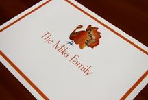 Thanksgiving  / Find these products on www.hamptonpaperdesigns.com