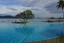 Kota Kinabalu / Beach time for Dave and Karen / by Mediasmith
