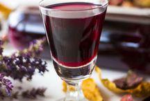 nalewki, likery, wina