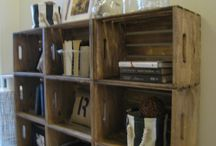 Storage ideas / by Earlene Hannah