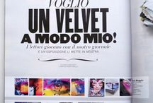 Velvet Magazine / #Art #Collage #Magazine #Paper #Velvet #Milano #Salone delMobile