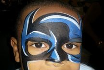 superhero themed masks
