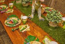 Dinosaur parties