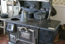 Wood Cook Stoves / Antique Wood Cook Stoves / by Mike G