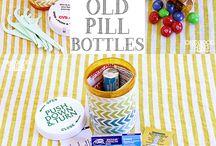 Pill Bottles (repurpose)